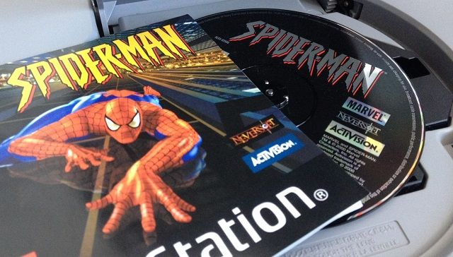 Spider-Man PS1 Game