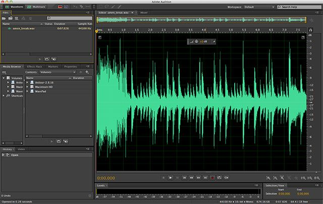 The Best Free & Cheap Audio Editors For Mac OS X audition