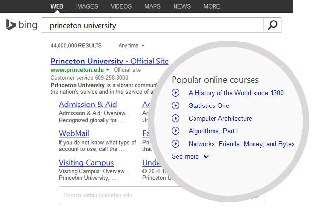 Search for Online Courses