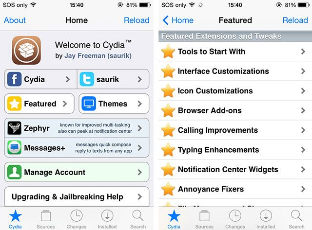 How To Jailbreak iOS 7.1.x & Install Cydia With Pangu cydia1