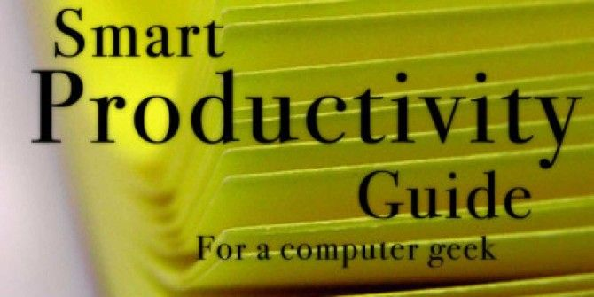 A Simple Productivity Guide for Everyone