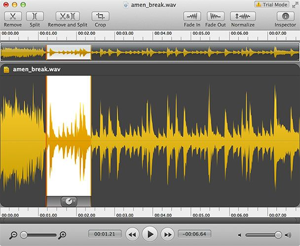 The Best Free & Cheap Audio Editors For Mac OS X fission