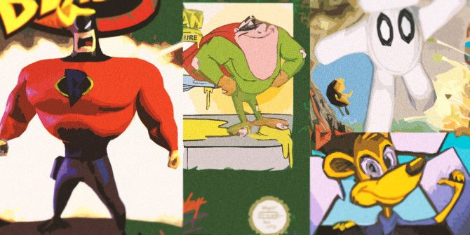 4 Failed Video Game Mascots You've Probably Never Heard Of