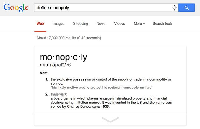 Help End Google's Search Monopoly: Use Something Else gmonopoly