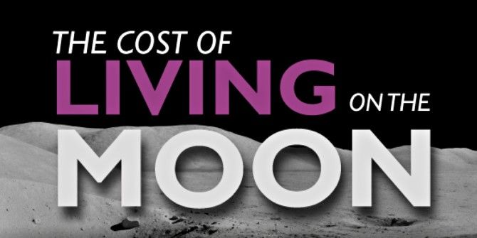 How Much It Costs To Live On The Moon