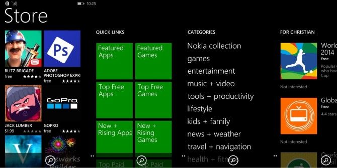 Upgrade To Windows Phone 8.1 & Enjoy A New App Store Interface!