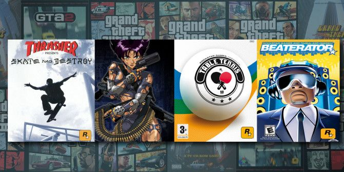 4 Games From Rockstar That Are Nothing Like Grand Theft Auto