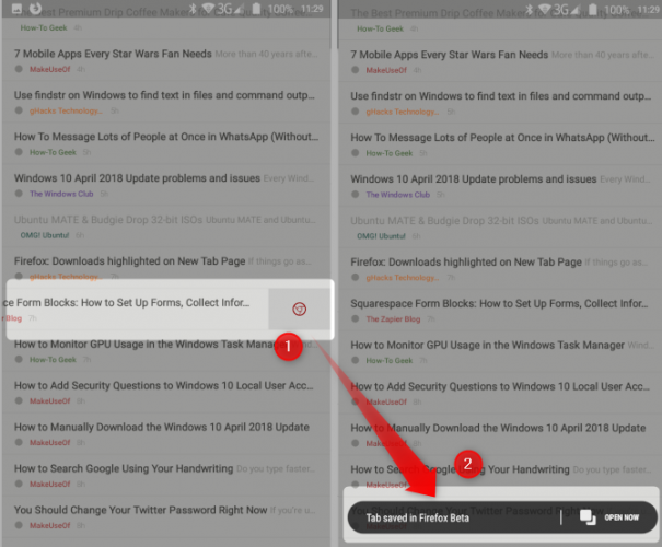 Supercharge Your Smartphone RSS Reader With Firefox and FeedMe rss feed reader feedme firefox combo 605x500
