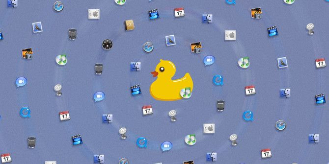 StatusDuck Replaces Your Mac's Dock With Menubar Icons