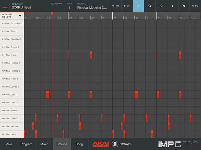Is Akai's iMPC Pro The Best iPad Beat Production App Yet? timeline