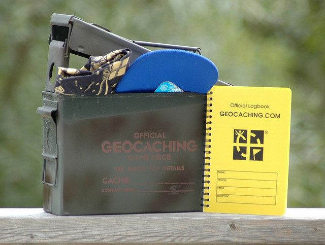 Geocaching for kids