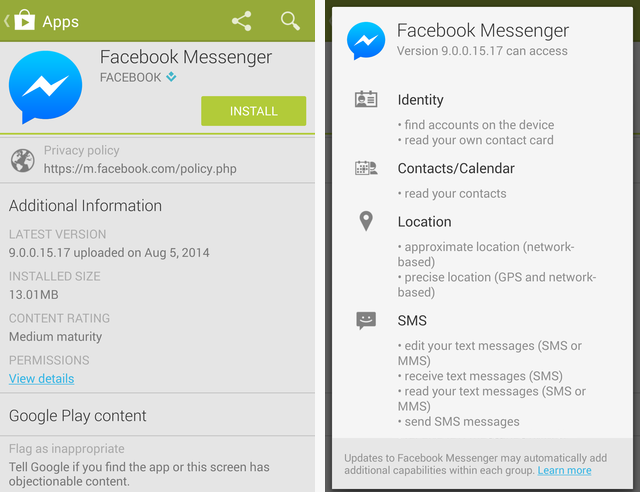 how to download a video on facebook messenger