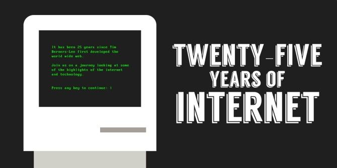 25 Years Of Glorious Internet