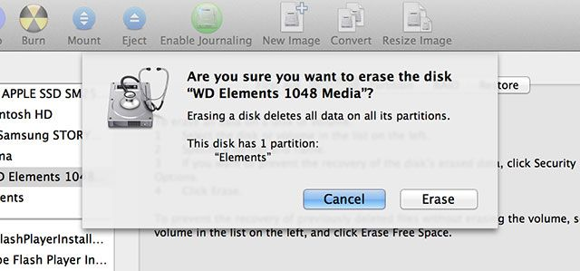 Partition & Use Your Time Machine Hard Drive To Store Files Too 2erase