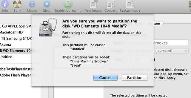 Partition & Use Your Time Machine Hard Drive To Store Files Too 4apply