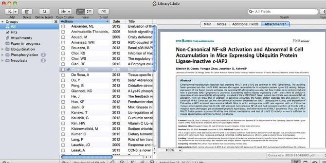 Creating Bibliographies & Footnote Citations Is Easier With Bookends for Mac