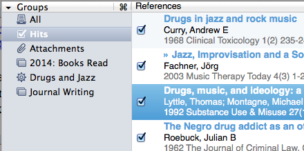 Creating Bibliographies & Footnote Citations Is Easier With Bookends for Mac Bookends hits