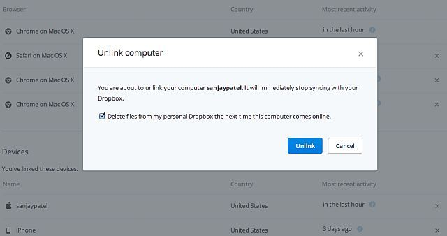 Dropbox-Pro-Unlink-Device-Remote-Wipe