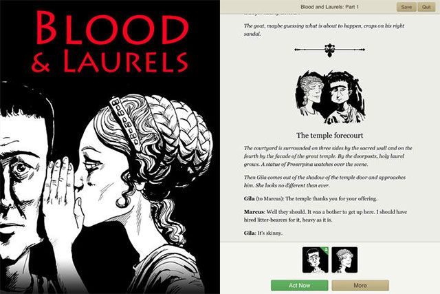 Love Interactive Fiction? Fill Your iPad Or iPhone With Text Adventures bloodlaurels