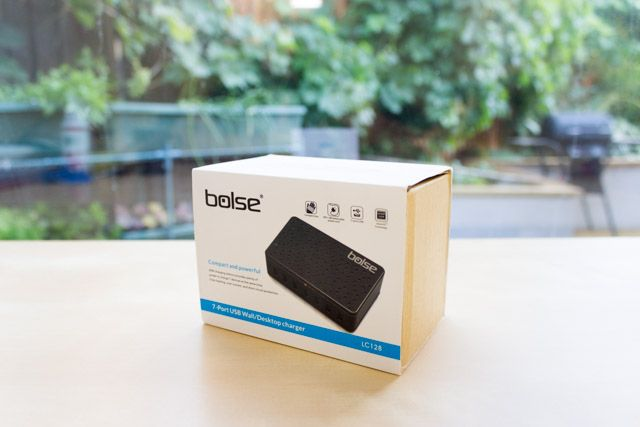 bolse 7-port charger - box