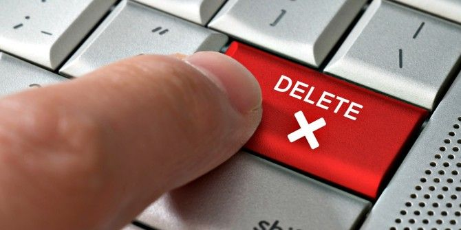Make These 4 Changes Before You Delete Any Online Account