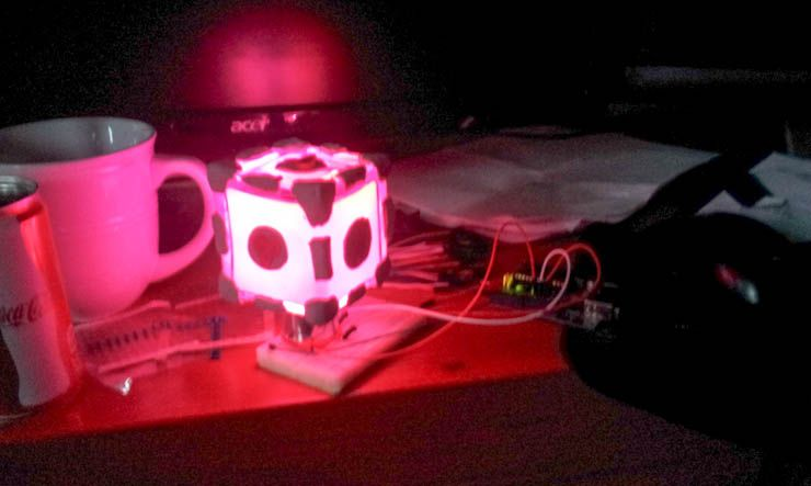 How to Build a Companion Cube Mood Lamp (For Absolute Arduino Beginners) diy companion cube colour swirl