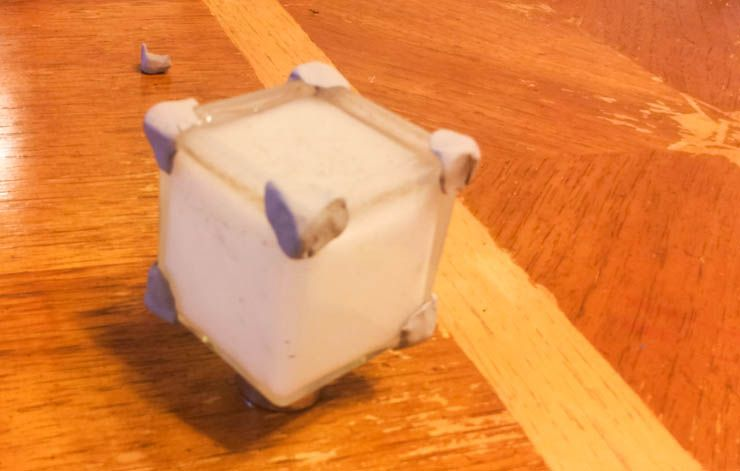 How to Build a Companion Cube Mood Lamp (For Absolute Arduino Beginners) diy companion cube decorating