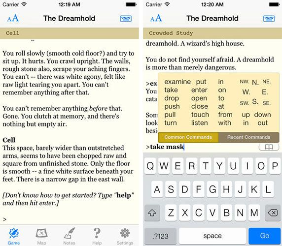 Love Interactive Fiction? Fill Your iPad Or iPhone With Text Adventures dreamhold