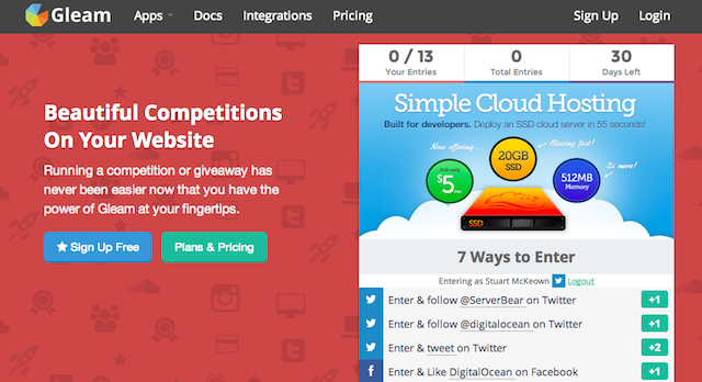 Run Competitions On Your Website Simply and Easily, With