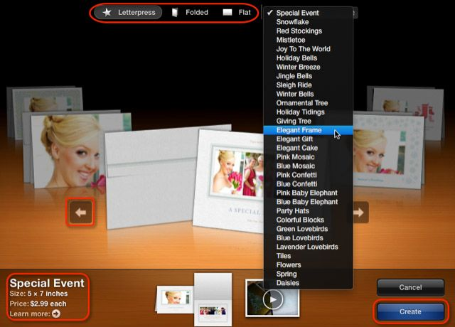 IPhoto themes