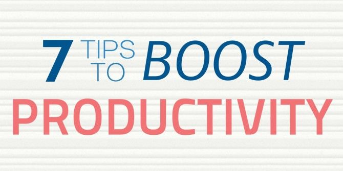 7 Body-Focused Tips To Boost Productivity