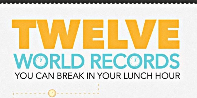 Break These World Records During Your Lunch Hour!