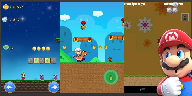 Are The Super Mario Bros. Copycat Games On Android Any Good?