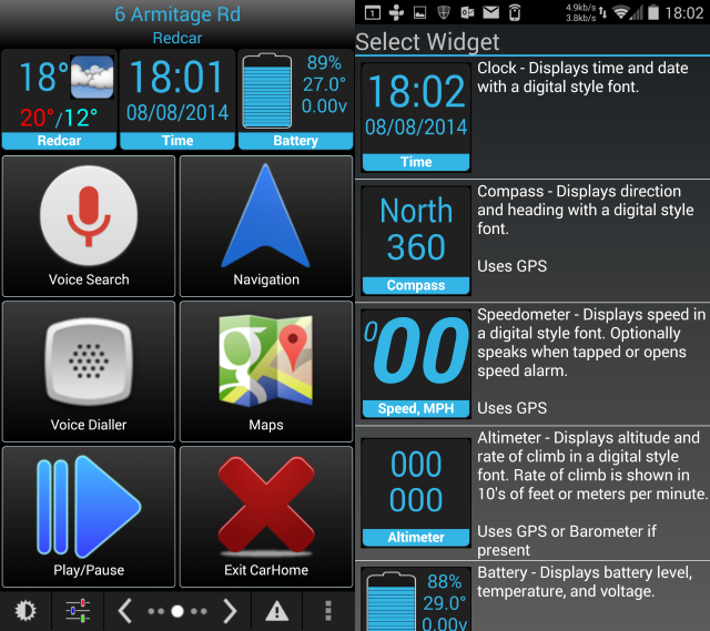 The 5 Best Dashboard Car Mode Apps For Android Compared