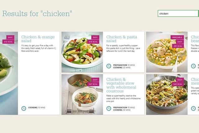 Love food healthy recipes check out these windows 8 apps muo w8 food apps bbc the resulting choices of healthy meals forumfinder Gallery