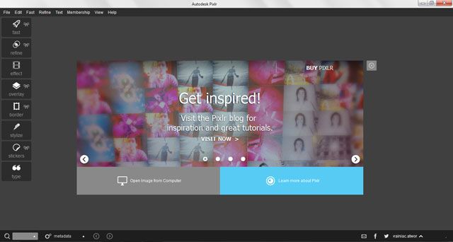 Pixlr For Desktop Is A Powerful & Free Creative Editor For