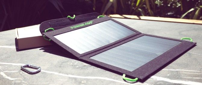 Poweradd 14W Portable Solar Charger Review and Giveaway