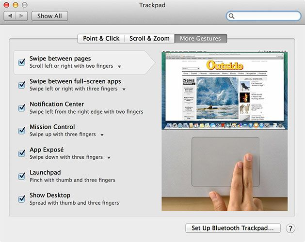 A Quick Guide To Using A Mac For Windows Users trackpad
