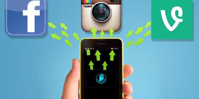 Facebook, Instagram & Vine Video Uploads Made Easy on Windows Phone 8.1