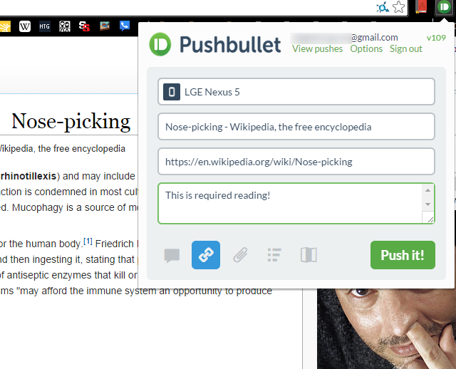 05-Pushbullet-Link-Push