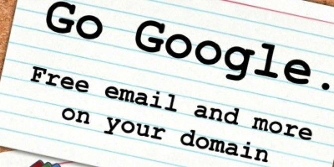 Google Apps Guide: Free Email and More On Your Website