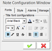 You Can Set Certain Notes To Shake When Wake Up Your Computer Play A Noise At Time