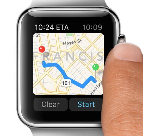 apple watch navigation