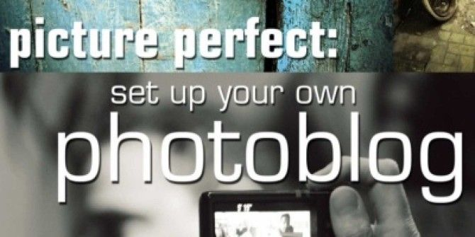 How to Set Up Your Own Photoblog