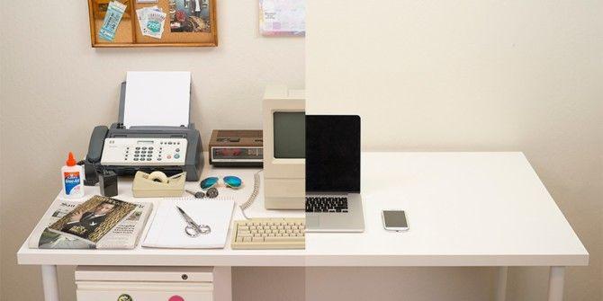 Evolution Of The Desk (1980-2014)