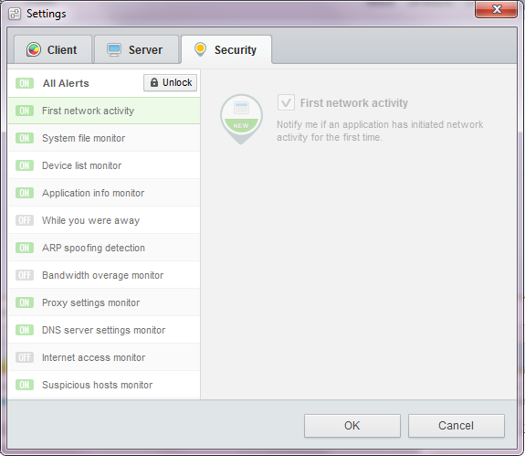 glasswire-security-settings