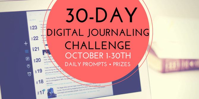 Start  A Digital Journaling Habit With A 30-Day Challenge