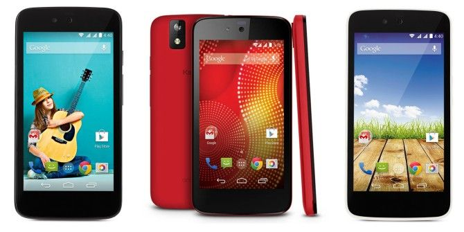Android One Launches In India With Three Phones Under $110