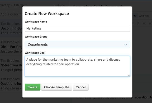 Manage Your Business For Better Results With Intellinote newworkspace