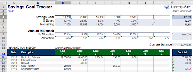 spreadsheets-finances-savings